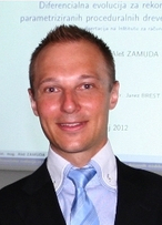 Portrait of Dr. Aleš Zamuda
